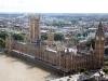 Skyward view of London