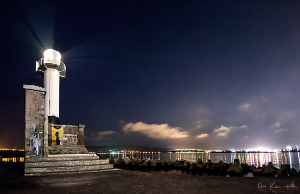 Overwatching lighthouse