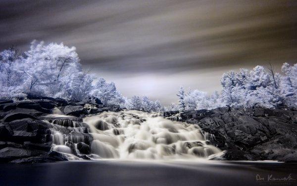 Infrared Falls