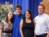 Desi, myself, mom, and Walter