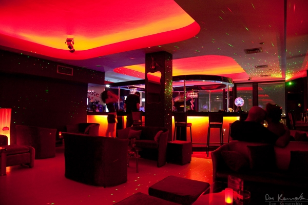 Fancy cocktail bar