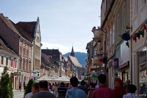 Streets of Brashov