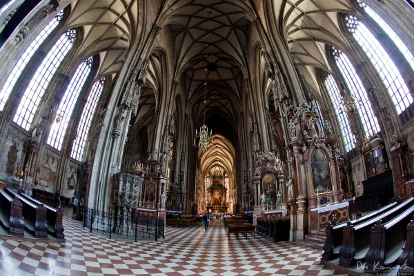 St. Stephen's Cathedral Fisheye