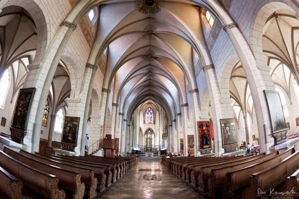 Fisheye: St. Georg Church
