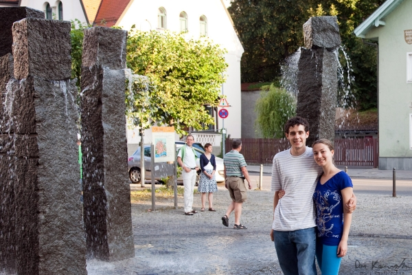 Desi and I in Füssen