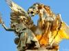 Pont Alexandre III Sculpture close-up