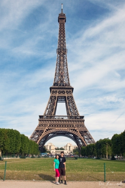 Eiffel Tower with Desi and I