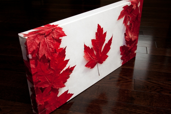 Maple Leaf Flag Giveaway