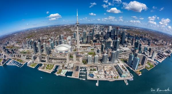 Fisheye Toronto