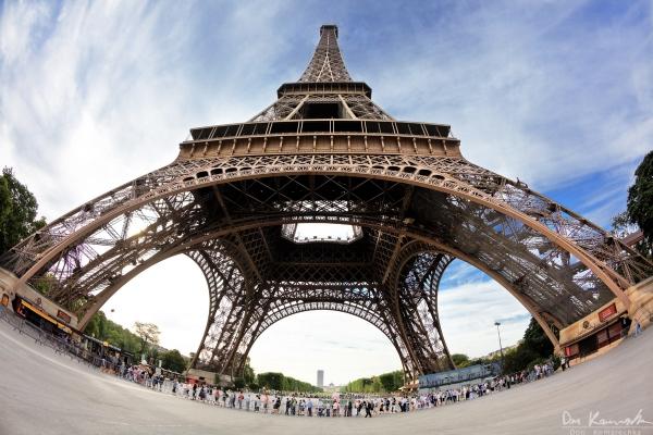 Fishy Eiffel Tower - HDR