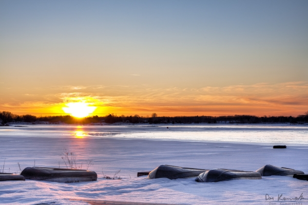 Port Severn Sunset - HDR