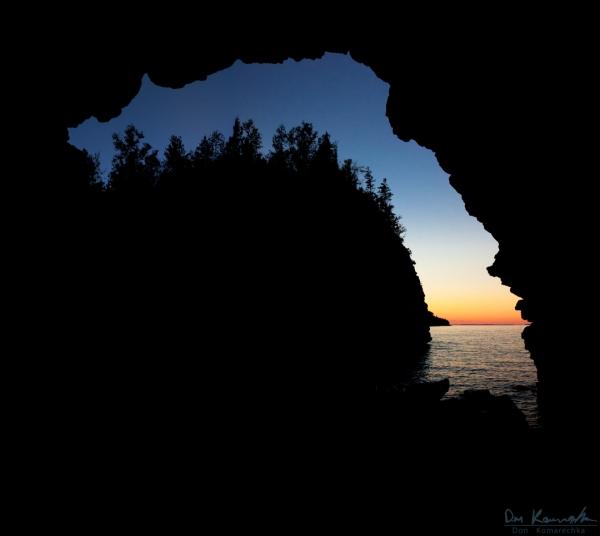 Grotto Silhouette